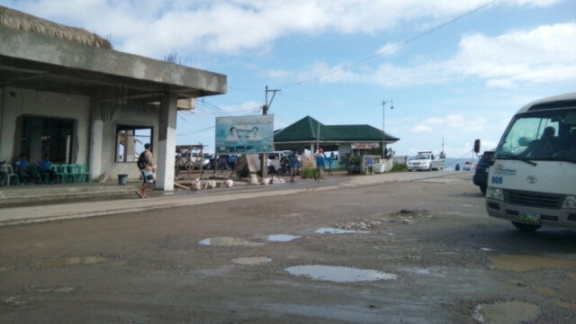 This is the Tabon Port, which is the jump-off point for people leaving Boracay island. The tricycle terminal is located from the location where I took this photo.