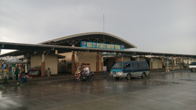 Roxas City Integrated Transport Terminal where you can find public utility vehicles to get to the city proper and nearby towns.