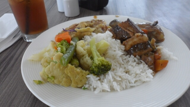 Free Lunch at Astoria Hotel in Boracay.
