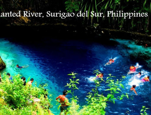 Enchanted River, Surigao del Sur, Philippines
