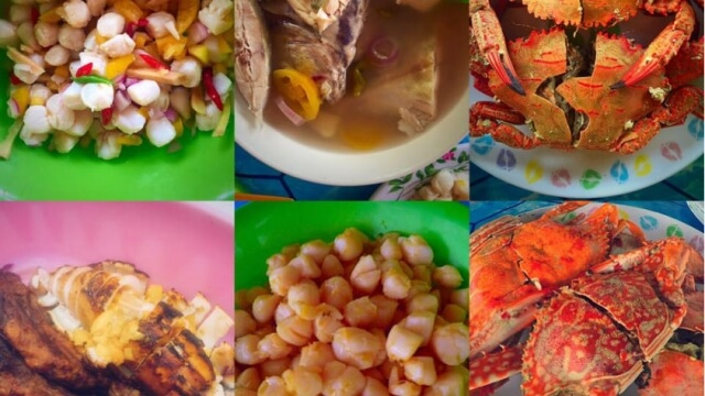 Meals that were served during our stay in Arjan Beach Resort. Photo grabbed from Paula's Facebook.