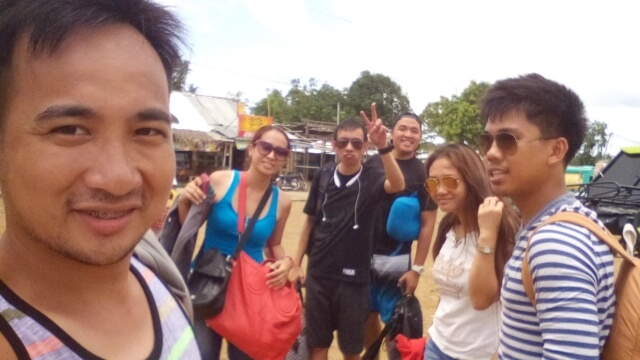 The group at Estancia Bus Terminal before parting ways. (L-R) Me, Paula, Emil, Mac, Angel and Mike.