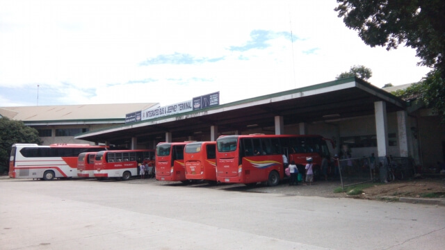 The Iligan City Integrated Jeepney and Bus Terminal is the last stop for all buses going to Iligan City. Buses going to Pagadian City which pass the Maria Cristina Falls jump-off point can be found here as well.