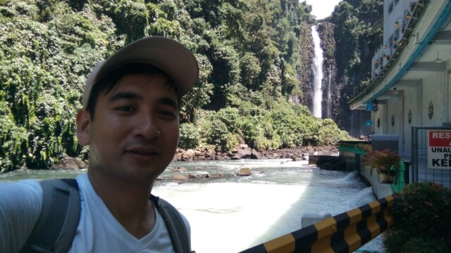 The famous Maria Cristina Falls located inside the NPC Nature's Park in Iligan City.