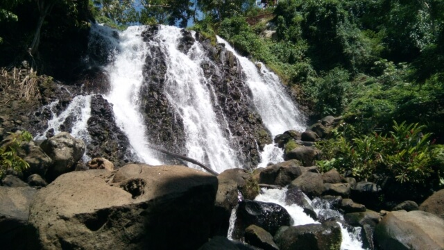 The Mimbalot Falls in Buru-un, Iligan City.