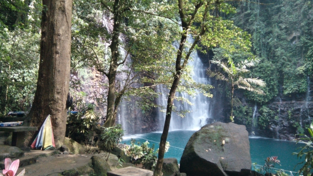 The Tinago Falls in Iligan City.