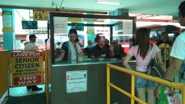 A minimal fee is collected to passengers for using the bus terminal, which I find it odd and unusual.