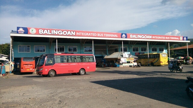 Balingoan Integrated Bus Terminal.