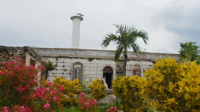 Lighthouse in Isla de Gigantes Norte. This is part of the island tour.
