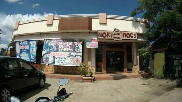 The Noki Nocs Savory House is located at the Junction 1. The junction or intersection you will traverse going to and from the airport. It is in front of the provincial capitol.