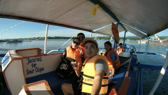 The joiner to a family of 3 members for Honda Bay Island Hopping tour.