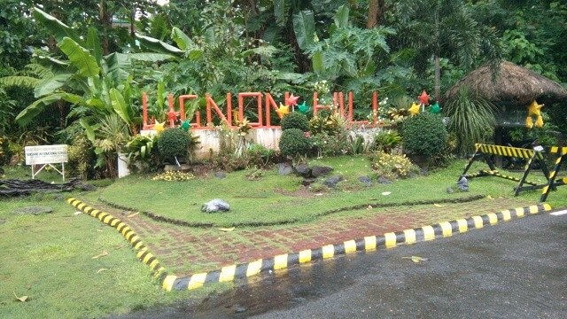 A marker of Ligñon Hill Nature Park. It is one of the tourist attraction in Albay. This is a perfect spot where you can view the Mayon Volcano and the runway of Legazpi International Airport.