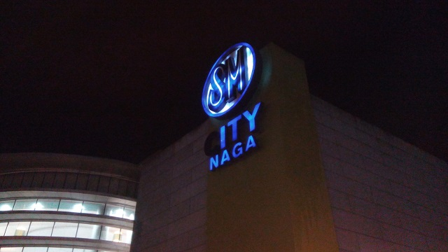 SM City Naga is located near the Bicol Central Station.