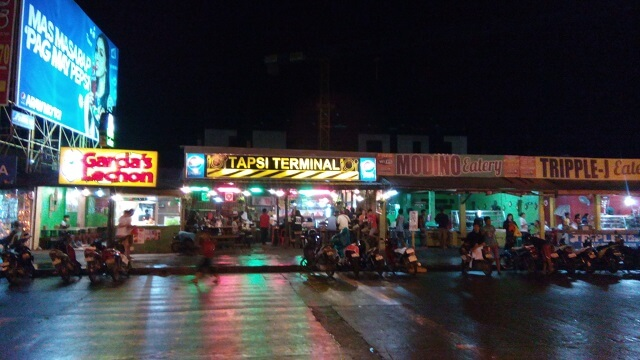 Eateries or carinderias in front of SM City Naga. If you are tourist or visitor of the city, I suggest you take your meal here. You can find local dishes that will complete your stay in the city.
