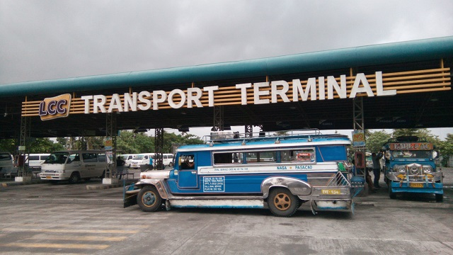 LCC Transport Terminal or in Google maps it is named as Southbound Naga City Terminal. This is where you can find a jeepney going to White Pebble Beach. This is accessible by a tricycle ride from the city proper or from SM City Naga.