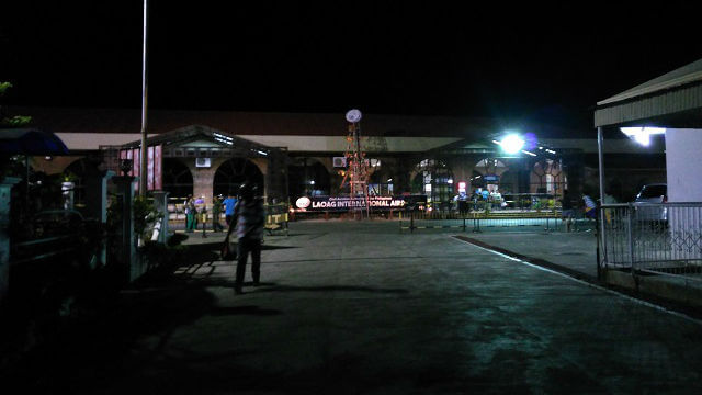 Laoag International Airport. This was taken where the public utility jeepney was waiting for passengers. You may want to check this location if you do not have means to go to the city proper. You can also ask any airport officials or employees where you can get a ride going to the city proper.