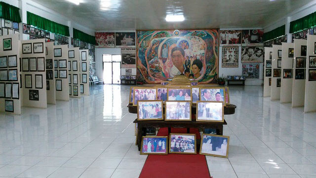 Inside the Marcos Photo Gallery.