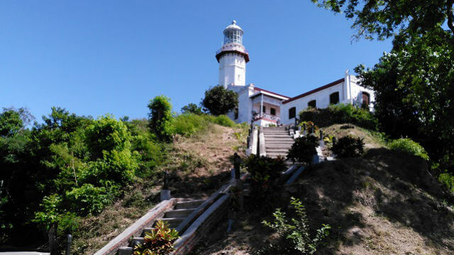 Cape Bojeador Lighthouse in Burgos, Ilocos Norte.