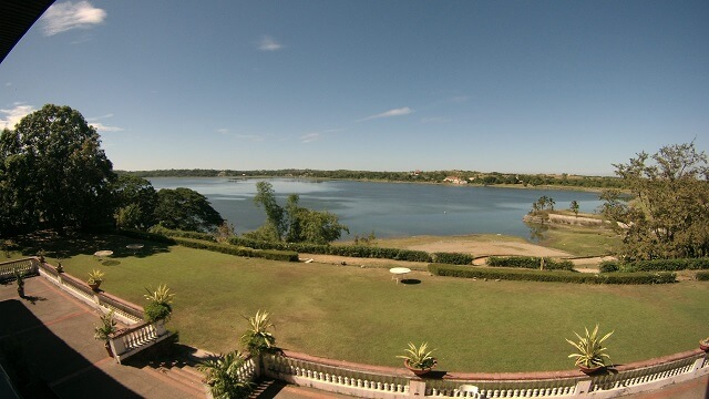 The Paoay Lake at the back of Malacañang of the North