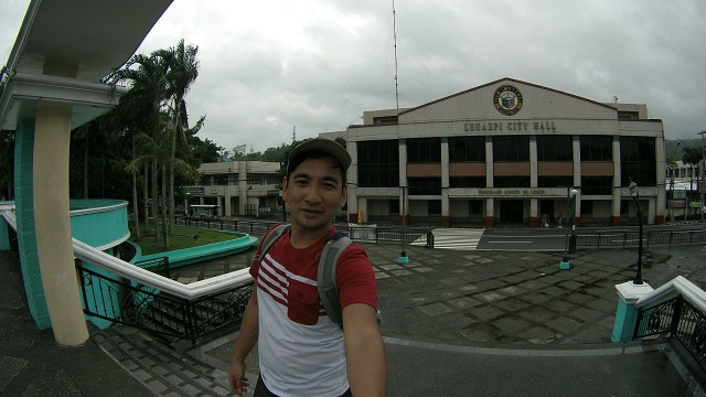 At the Peñarada Park, where you can get a view of the City Hall and Provincial Capitol.