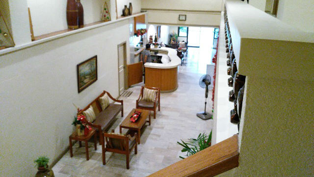 The Lobby of Hotel Vico.