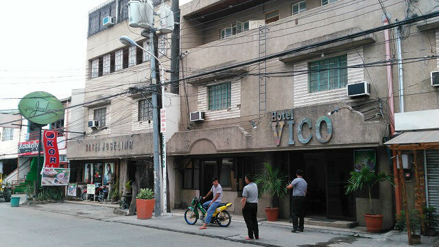 Facade of Hotel Vico, which is just right beside Hotel Joselina. The owners of the hotels are cousins. While the owners of Hotel Vico and Hotel Roma are siblings.