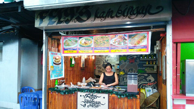 The Food Stall at Luna StrEAT Food Park that Sells Pancit Batil Patong.