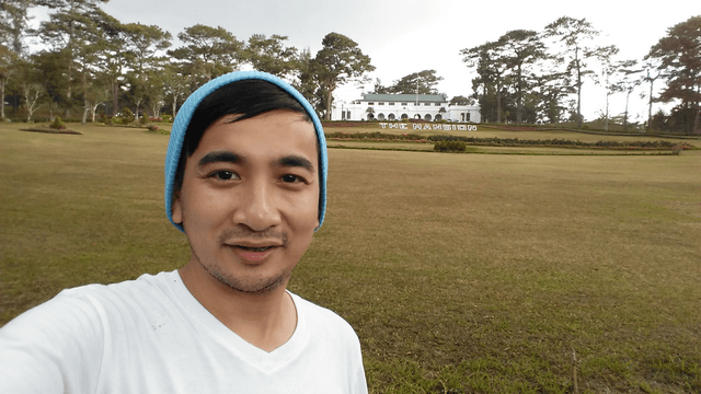 At last! This is my third time in Baguio City but this my first time to visit The Mansion.