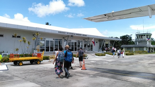 Siargao Domestic Airport also known as Sayak Airport.