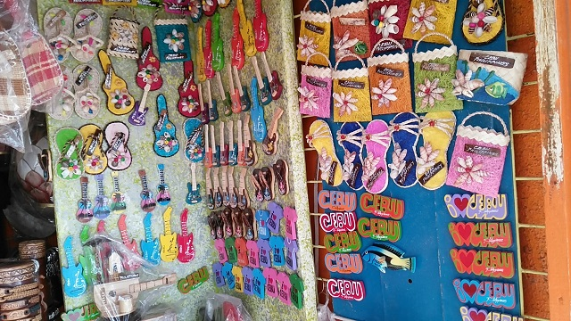 If Mactan Shrine is the only destination that you have in Cebu, you can buy souvenir items here. It is much cheaper than in the airport.