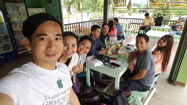 We had our breakfast within the compound of Davao International Airport. This eatery is located just beside the giant durian sculpture.