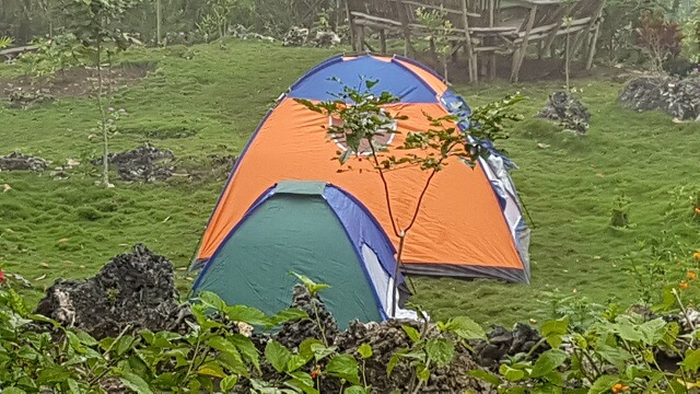 Our accommodation for the night in Mt. Puting Bato, Samal Island.
