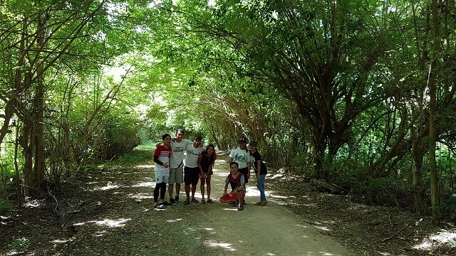 Friendship Road. One of the attraction in inland package tour. A best place to do a group jump shot.