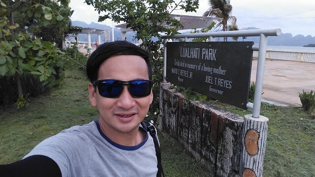 Lualhati Park in Coron, Palawan. This is part of an inland tour offered by tricycle drivers in town.