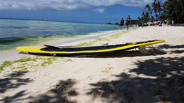 Kayak for rent in Boracay Island